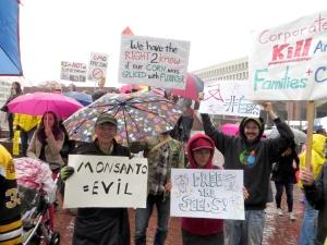 The Boston March Against Monsanto