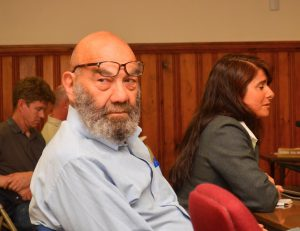 Attorney Bruce Taub and POCCA Director Laura Kelley