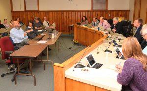 Floor view, Brewster BOS Meeting 5/16/16
