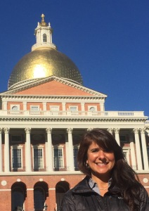 POCCA Cape Cod's Laura Kelley at the State House in Boston