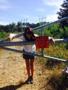 Laura Kelley visits the ROWs