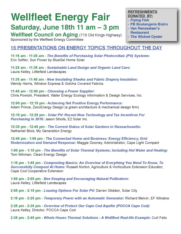 2016 WEC Energy Fair Poster - Speakers at event (5)